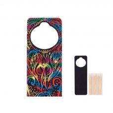 Scratch Door Hanger colourful