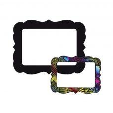 Scratch magnetic photo frame kidsplay crafts