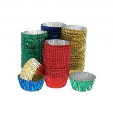 mini patty pans metallic colours craft