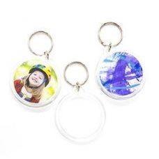 Shamrock circle keychain SH-508266