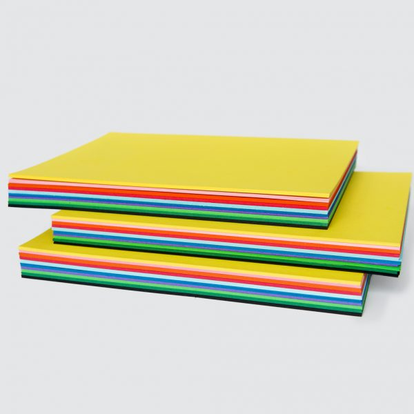 Pack of 100 A4 Assorted Cardboard