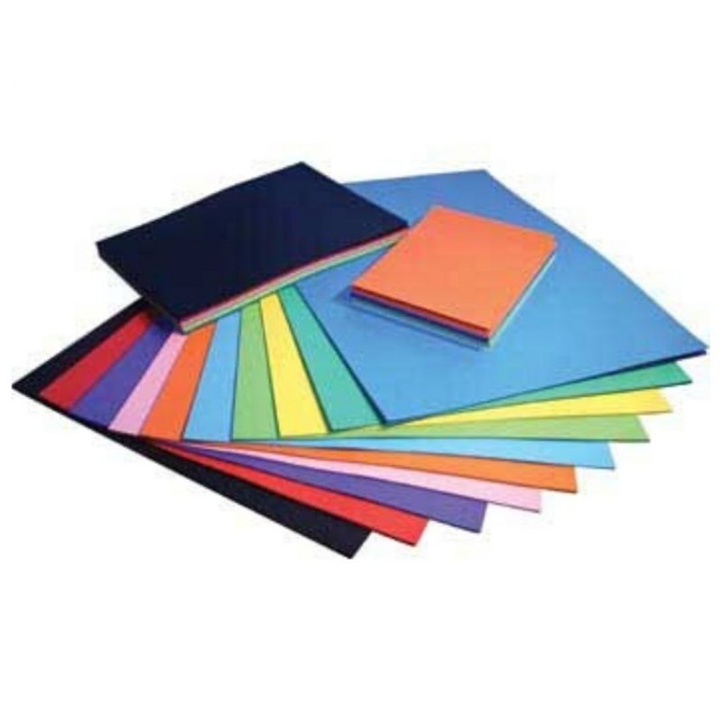 Coloured Board 100 Pack