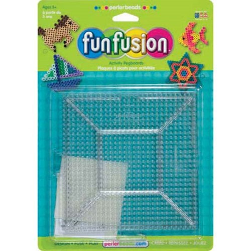 Large Clear Square Pegboards pack of 2