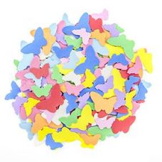 Foam Shapes Butterflies 160 pieces