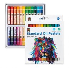 EC Standard Oil Pastels Set of 24 Superior Quality Oil Pastels