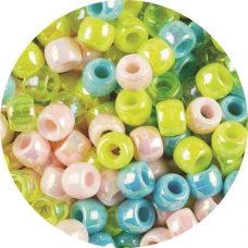 Pony Beads pearl packet of 1000