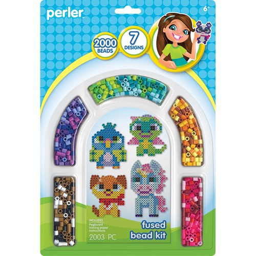 Perler Fanciful Friends Kit