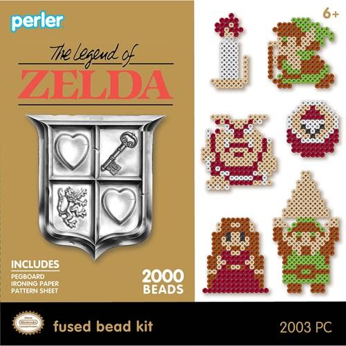 Perler Legend of Zelda