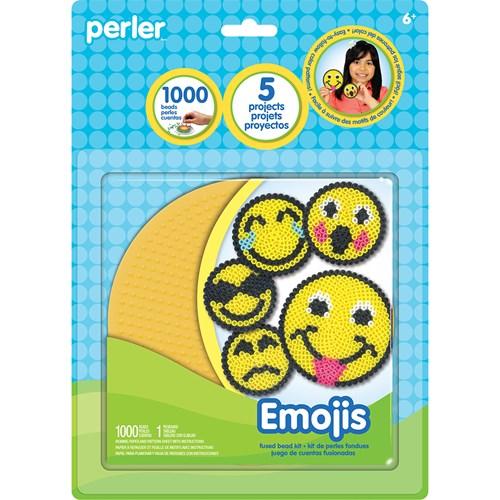 Perler emojis activity kit