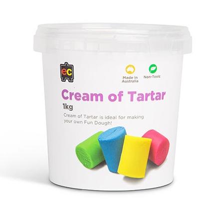 Cream of Tartar 1kg to make your own fun dough or playdough