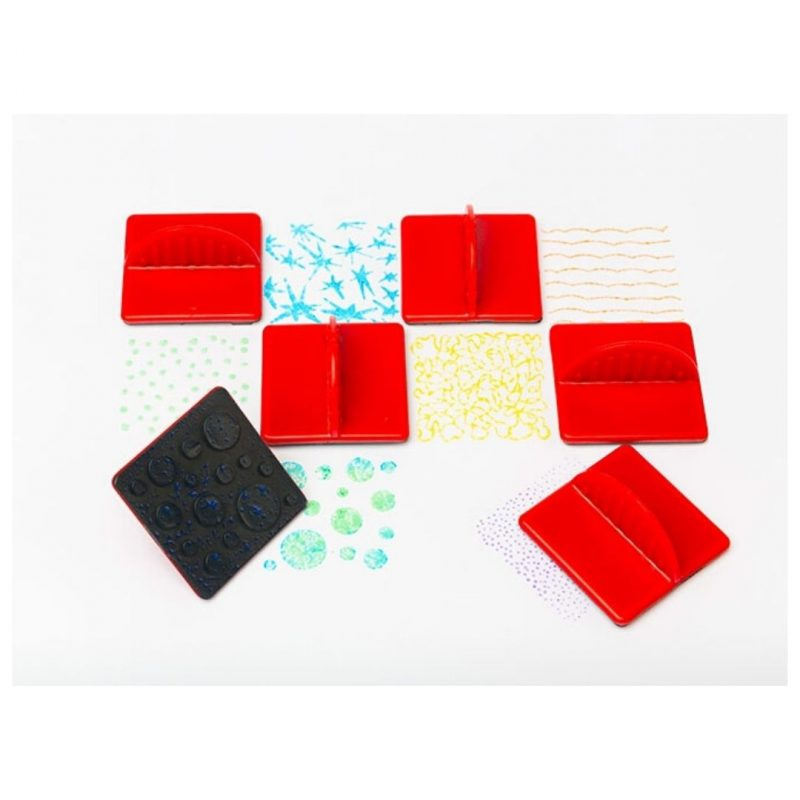 Paint Effect Stampers Set of 6