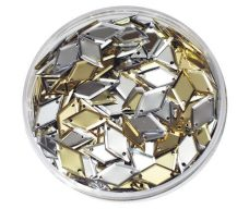 Sequins in a Jar Diamond Gold & Silver