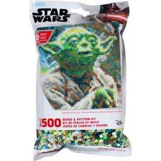 Star Wars Yoda Pattern Bag Perler Beads