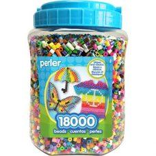 18000 Multi-Mix Perler Bead Jar