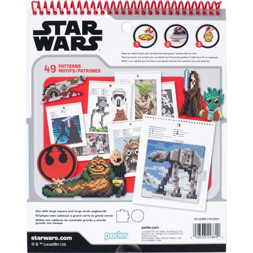 Star Wars Perler patterns back cover