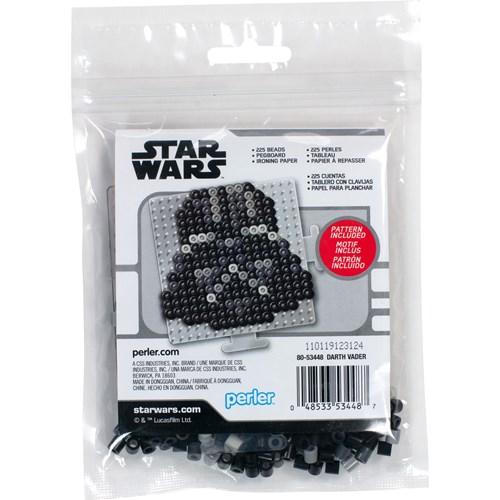 Darth Vader Perler Kit back cover