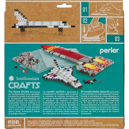 Space Shuttle Perler Beads