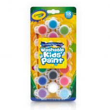 Crayola Washable Kids Paint Set 54-0125