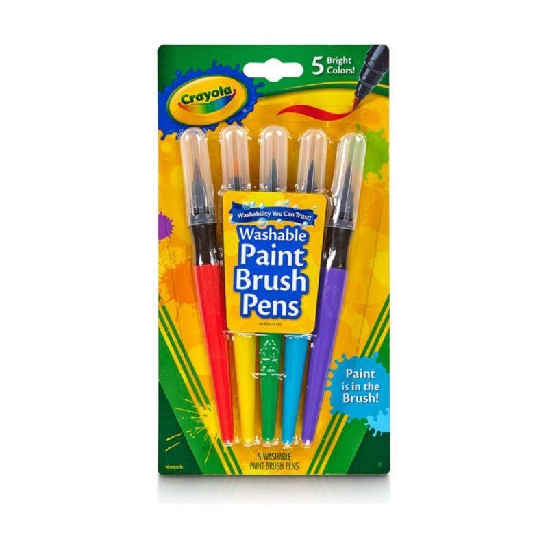 Paint Brush Pens Pack of 5