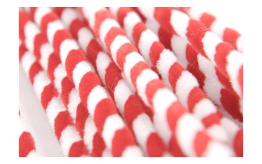Chenille Candy Sticks 25 pc