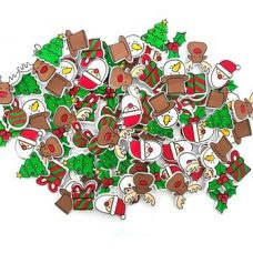 Traditional Foam Stickers Christmas Assorted