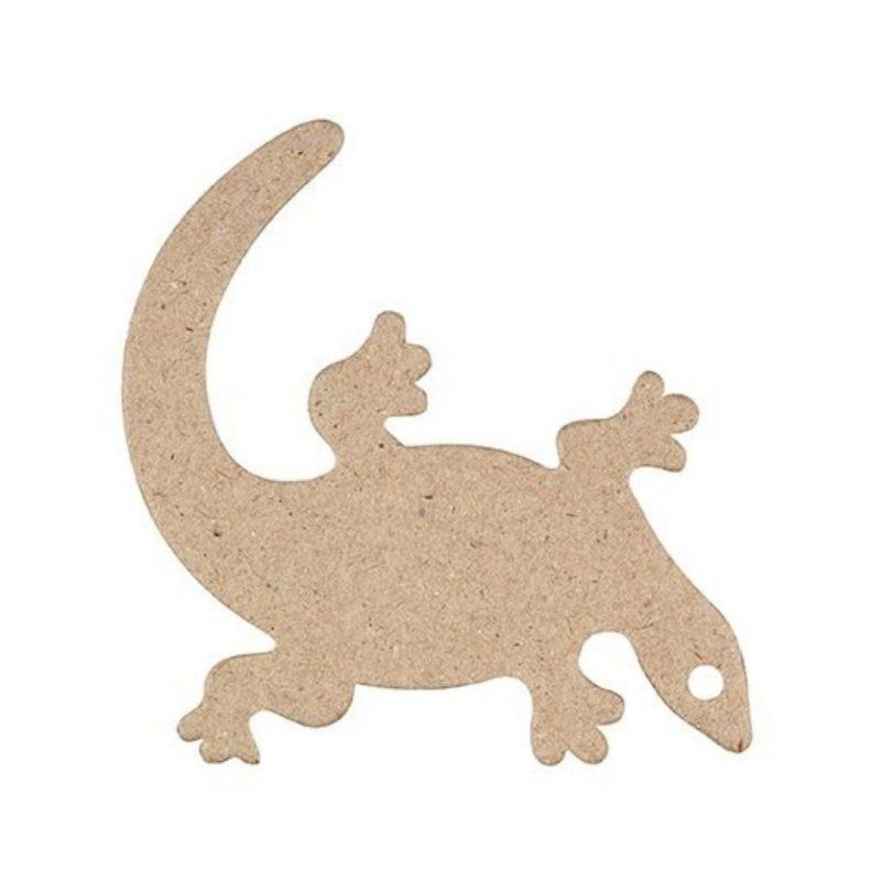 Papier Mache Lizard