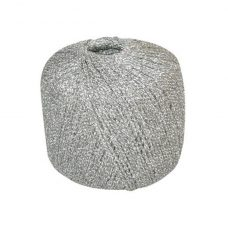 Silver Metallic Yarn 20g