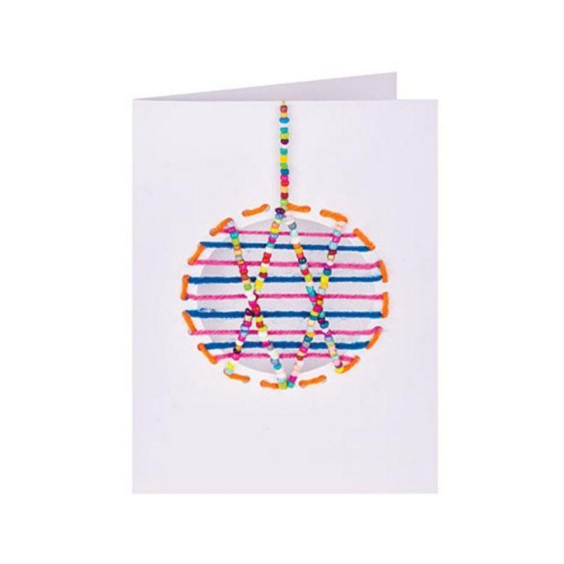 Christmas threading craft