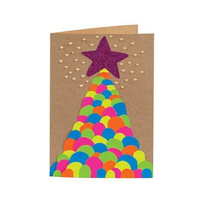 Christmas Card craft activity