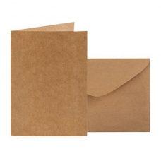 Kraft Card and Envelope