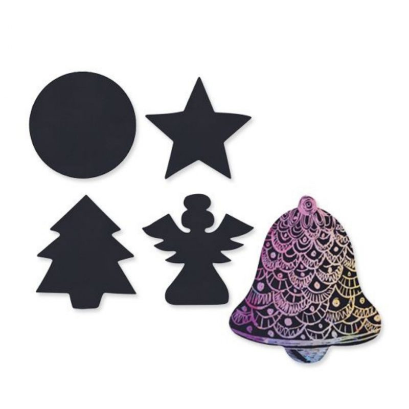 Scratch Christmas Shapes
