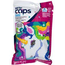 Unicorn Pattern Bag Perler Caps