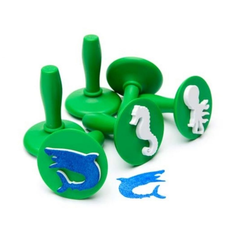 Sea Life Paint Stamps