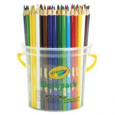 Bright and bold Crayola Triangular Pencils 48 pack